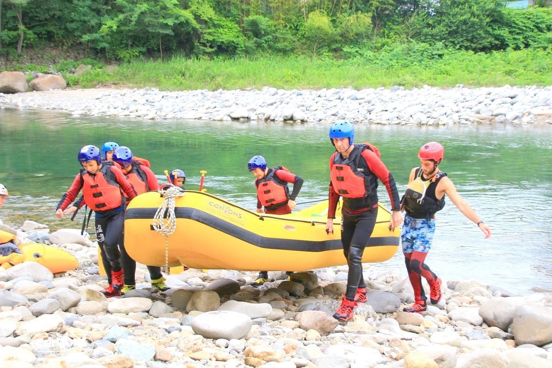 raft finish